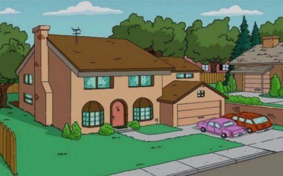 """Куќата на """"Симпсонови"""" навистина постои (фото)"""