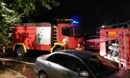 Пожар на Воено-медицинската академија во Белград (фото+видео)