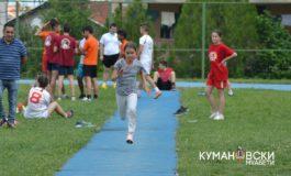 По 7. пат во Куманово Државно првенство во атлетика за основци (ФОТО)
