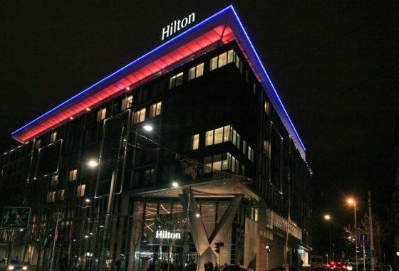 Евакуиран белградскиот хотел Хилтон