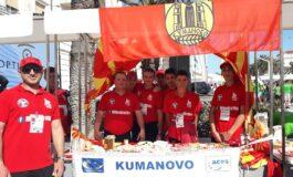 """Атлетичарите на ООУ """"Крсте Мисирков"""" ја промовираат земјава во Хрватска (ФОТО)"""