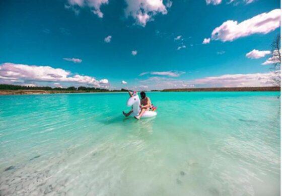 """Езеро во кое """"паметните"""" од Инстаграм се фотографираат бидјеќи е токсично (ФОТО)"""
