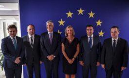 Премиерот Заев на средбата со Могерини во рамките на 74-тото Генерално собрание на ОН (ВИДЕО)