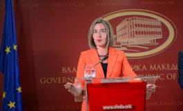 Могерини на вечера со лидерите од Западен Балкан