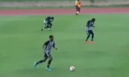 Гром удри неколку фудбалери на теренот (ВОЗНЕМИРУВАЧКО ВИДЕО)