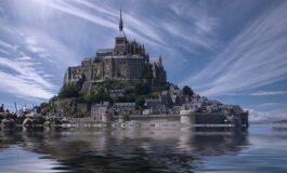 Мон Сен Мишел, за некои место од бајките, за други инспирација