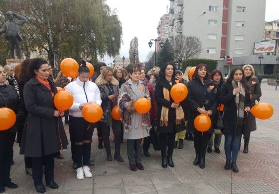 Форумот на жени на СДСМ Куманово со пораки против родово базирано насилство