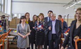 """Владина делегација во посета на кумановската компанија """"Босут"""" (ФОТО+ВИДЕО)"""
