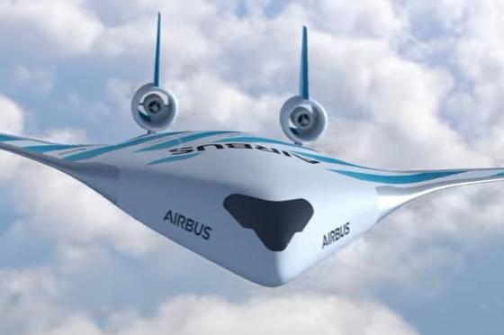 """АВИОНОТ НА ИДНИНАТА: """"Ербас"""" направи револуција кај патничките авиони (ВИДЕО)"""