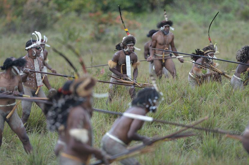 Papua-Nova-Gvineja-mumificiran-predak-mumija-pleme-1